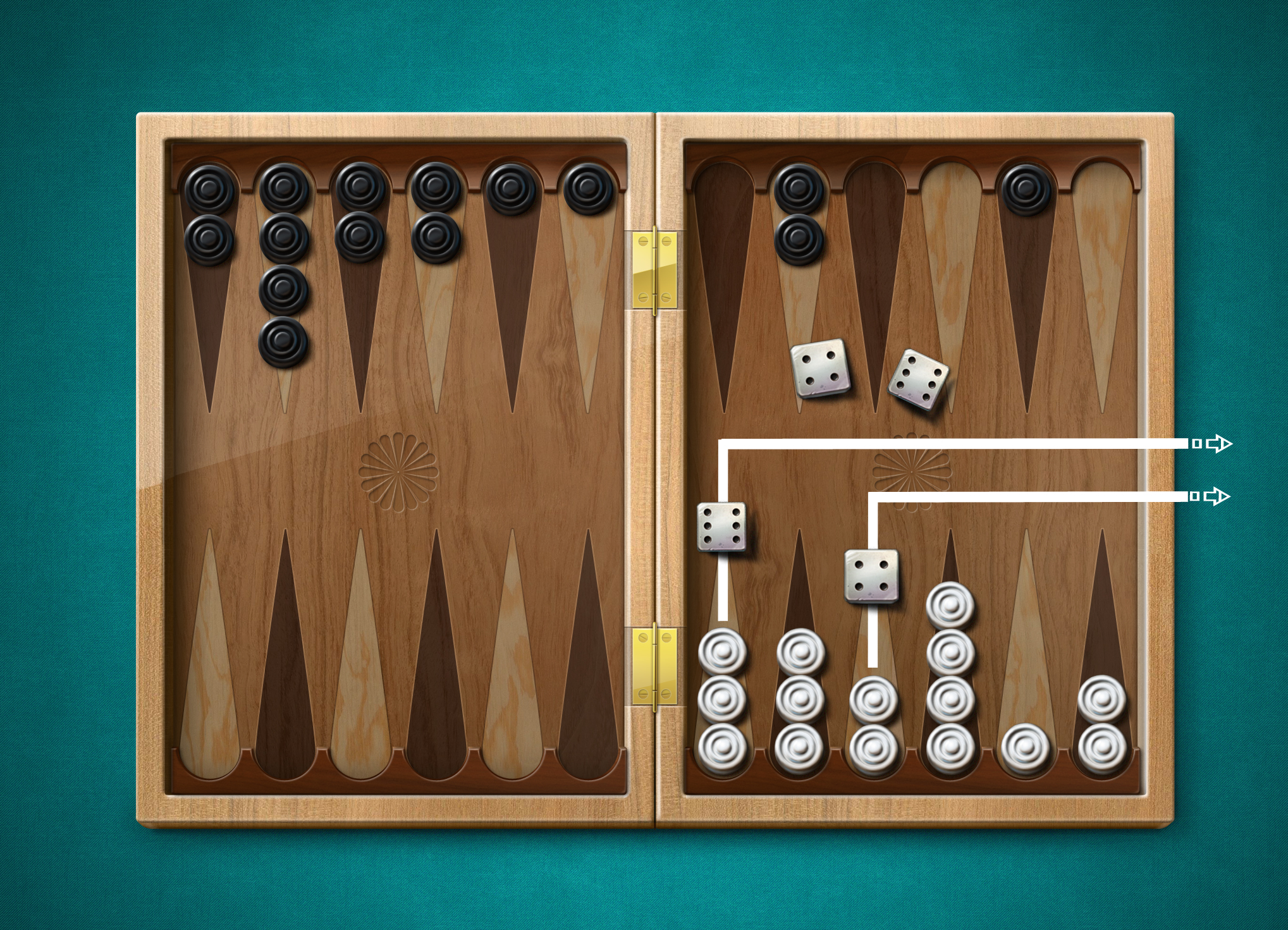 How To Play Backgammon Simple